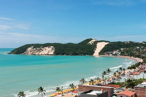Ponta Negra beach Natal, Brazil