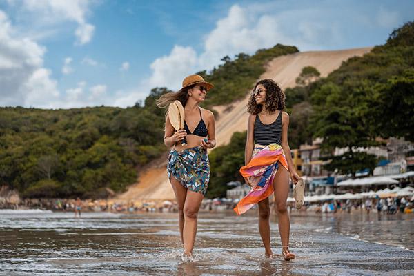 Praia de Ponta Negra - Natal, Brasil